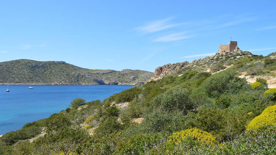 Se trata de la isla de Cabrera, un pequeño parque natural situado al sur de Mallorca