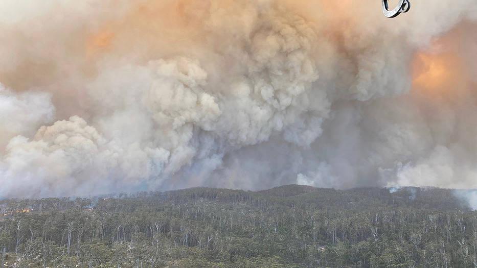 Bomberos logran detener avance de incendios hacia Canberra