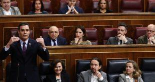 Sánchez volvió a defender a Ábalos durante La primera sesión de control de la legislatura