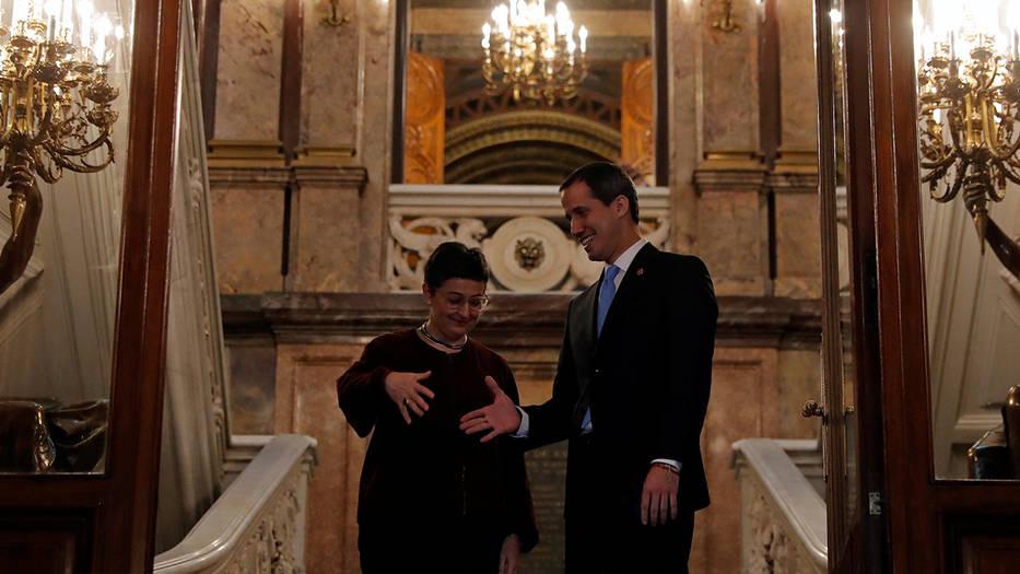 González Laya reiteró la postura de España sobre Juan Guaidó