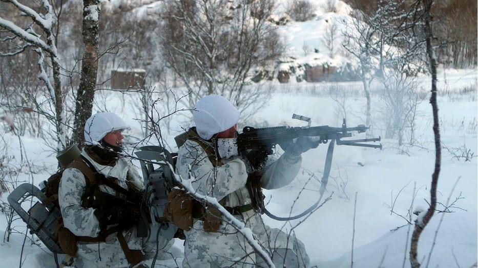 Fuerzas militares de la OTAN se alistan para los ejercicios en el Ártico