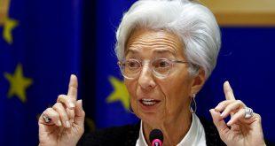 Presidenta del BCE ve señales de estabilización