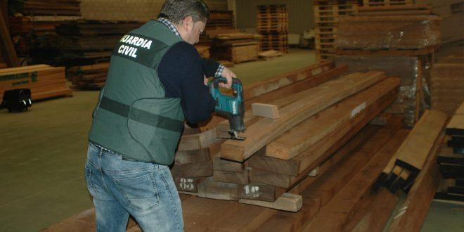 Duro golpe al tráfico de madera proveniente de Brasil y África