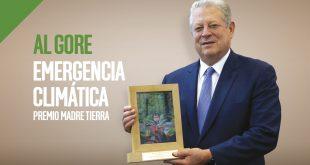 El exvicepresidente de Estados Unidos recibió el Premio Madre Tierra de Cambio16