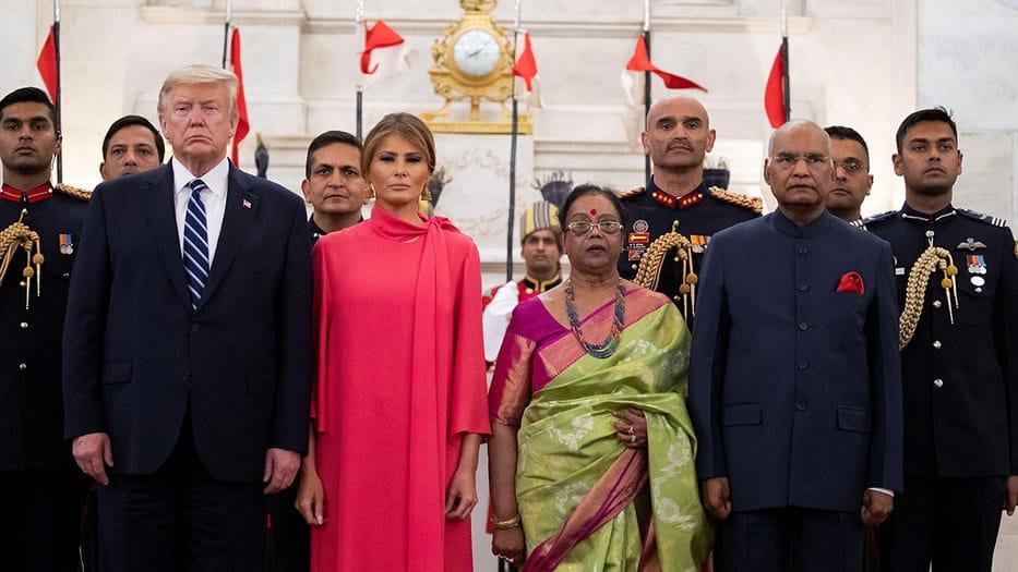 Trump visita India