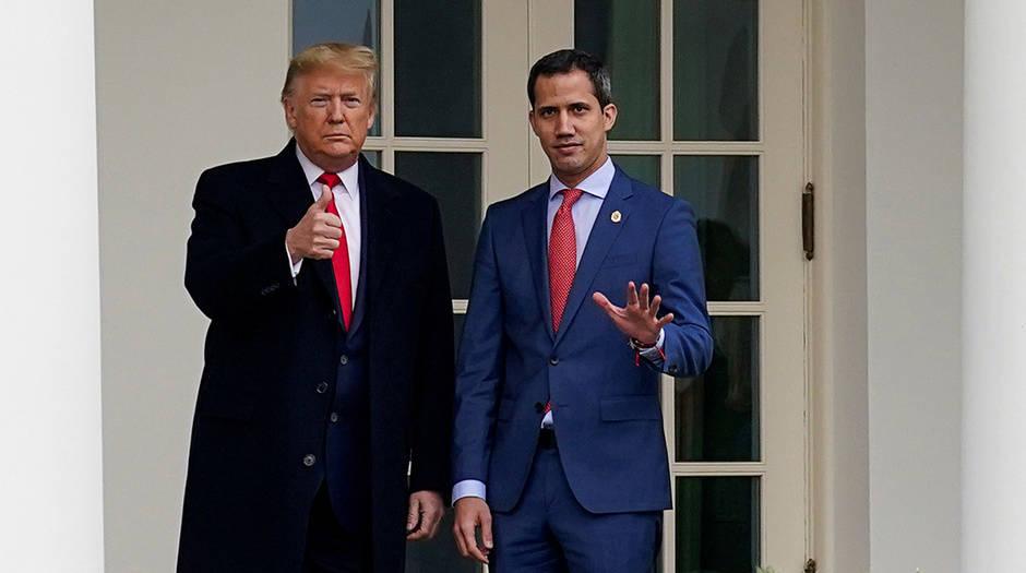 Guaidó recibió trato de Jefe de Estado