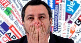 Asegura Salvini que todo es una componenda en su contra