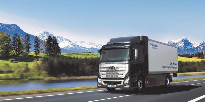 Camiones impulsados por hidrógeno de Hyundai recorrerán Suiza
