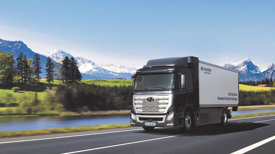 Camiones impulsados por hidrógeno