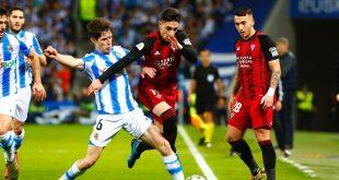 Real Sociedad venció al Mirandés