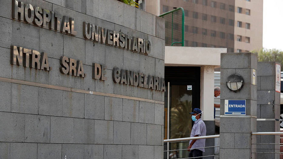 El paciente fue ingresado al Hospital Universitario Nuestra Señora de la Candelaria