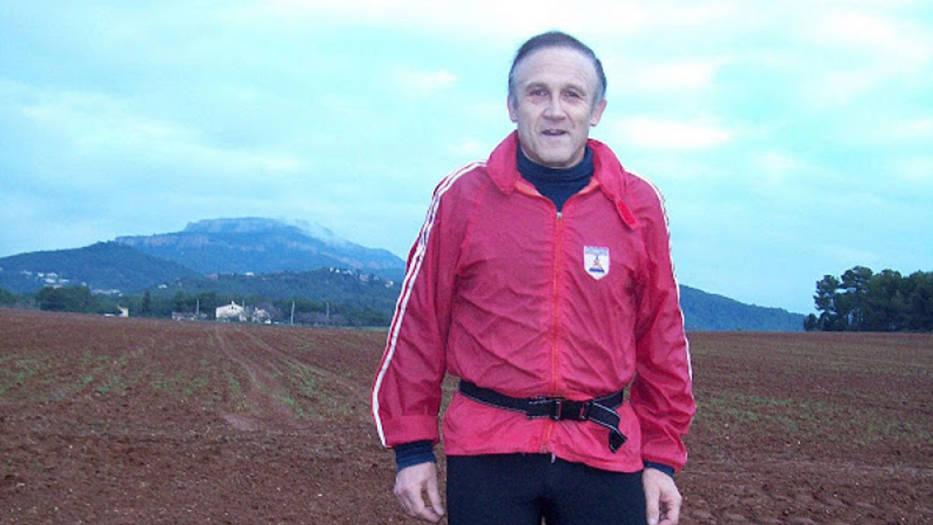 Fue un reconocido atleta de su natal Rubí