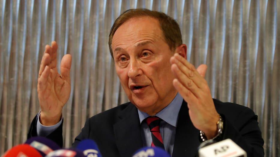 Didier Gailhaguet anunció su renuncia como presidente de la Federación del Deporte de Hielo de Francia