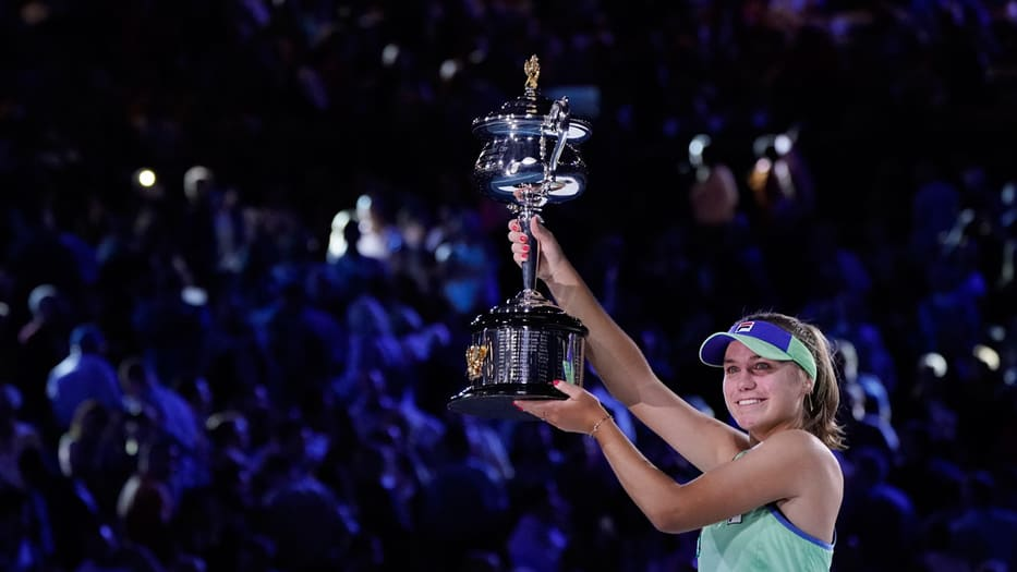 campeona del Australian Open