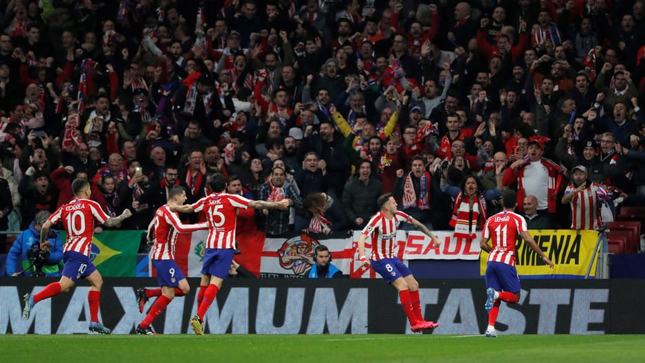 Atlético de Madrid para vencer al Liverpool