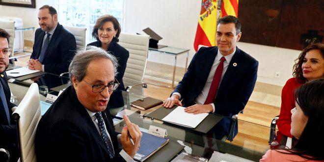 Sánchez condiciona acuerdos de la mesa de diálogo a la aprobación de presupuestos