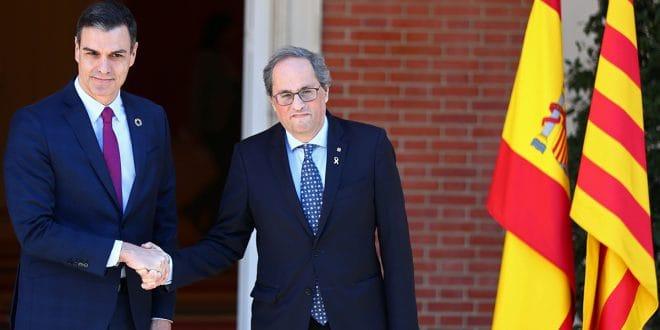 """Sánchez asume la mesa de diálogo como """"una agenda de reencuentro"""""""