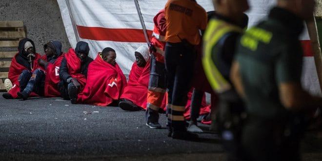 Llegada masiva de migrantes africanos supera cifras de 2019