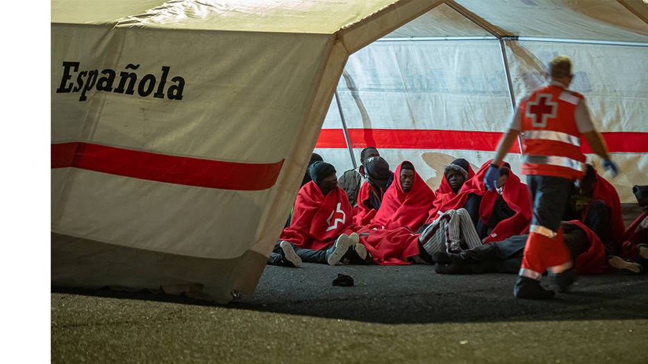 España a la cola de Europa en materia de protección migratoria