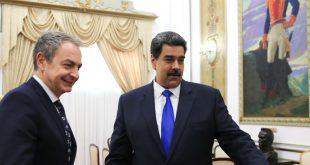 Zapatero visita a Maduro por 39a ocasión