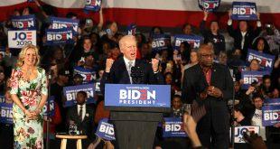 Biden obtuvo la mayoría en la difícil Carolina del Sur