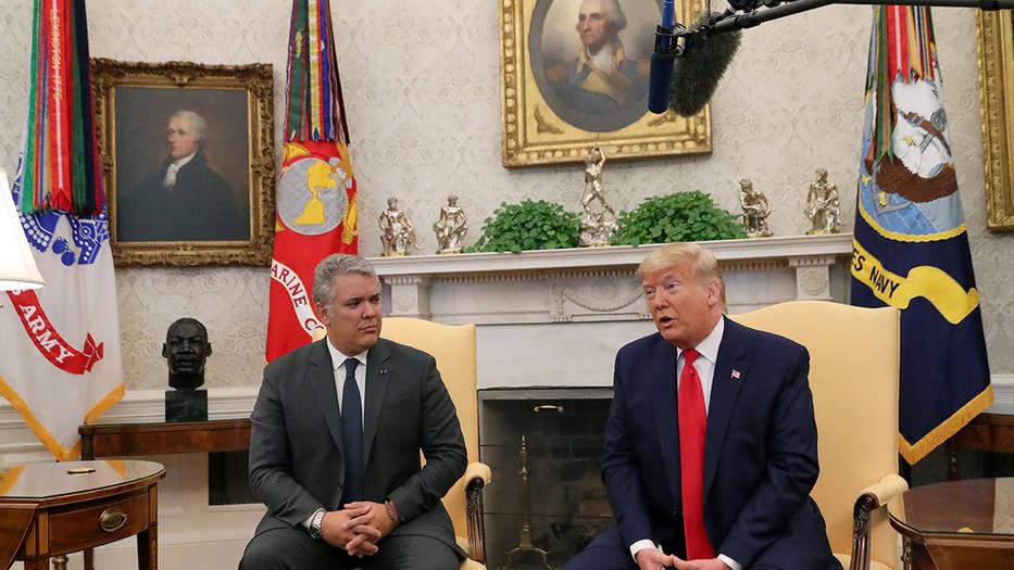 Duque y Trump