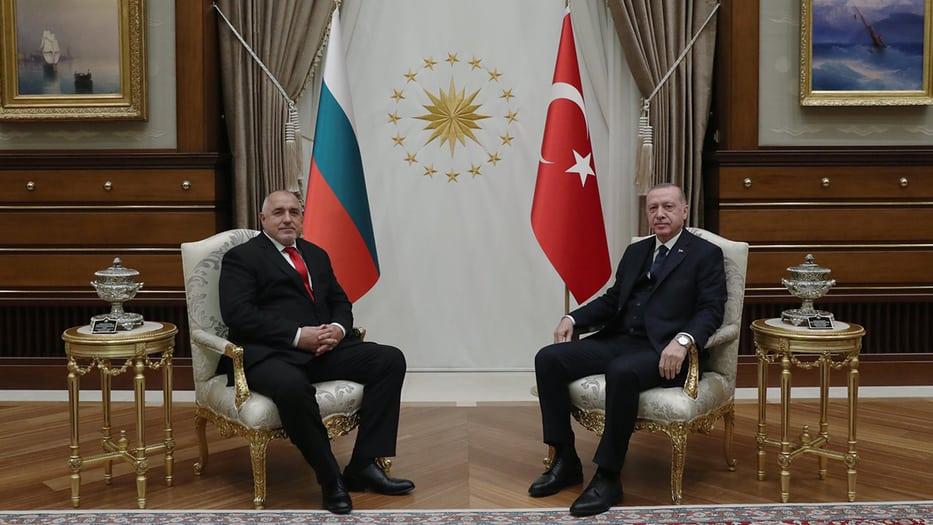 Erdogan es apoyado por su homólogo de Bulgaría