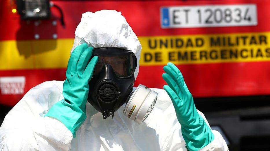 España alcanza las 3.434 muertes