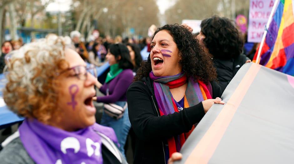 Las manifestaciones del 8-M pusieron en evidencia la falta de unidad