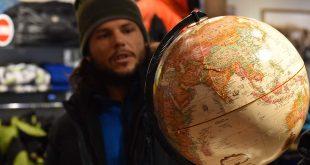 Nacho Dean, por tierra y mar contra el cambio climático