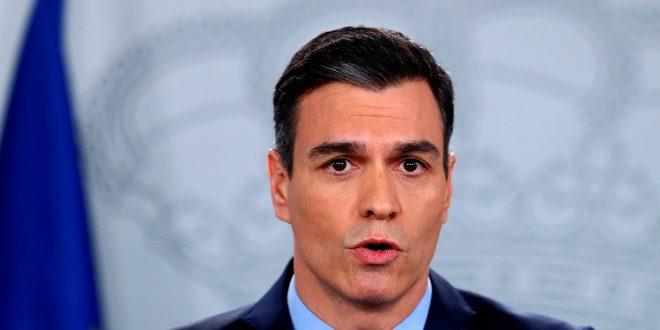 Sánchez anuncia paralización de actividades no esenciales hasta el 9 de abril