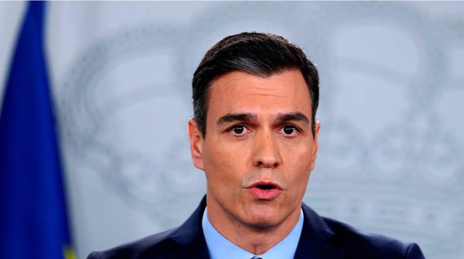 El presidente del Gobierno español Pedro Sánchez anunció la paralización de actividades no esenciales desde este lunes hasta el 9 de abril