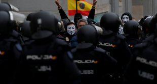 Policías y guardias civiles se enfrentaron por sus sueldos