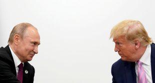 Los presidentes Vladimir Putin y Donald Trump en su reunión del G-20 en Osaka, en junio de 2019/Archivo