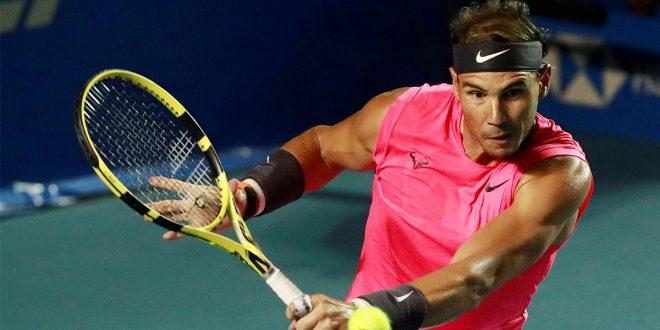 Rafa Nadal en el ATP 500 de Acapulco/Archivo
