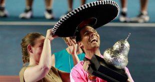 Nadal venció en dos sets (6-3 y 6-2) al estadounidense Taylor Fritz