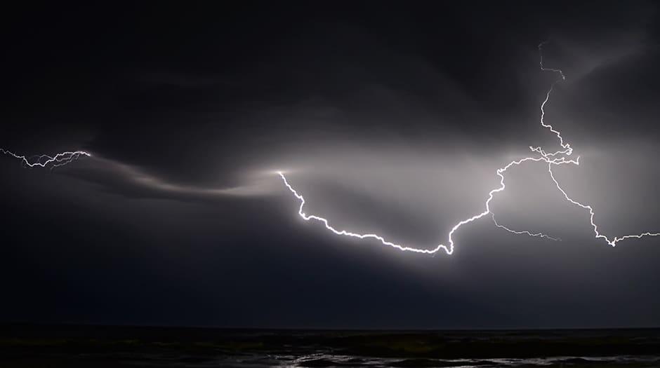 La lluvia puede caer en cualquier punto de la Península y de Baleares