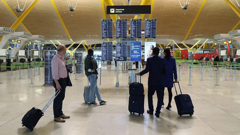 Turistas internacionales España