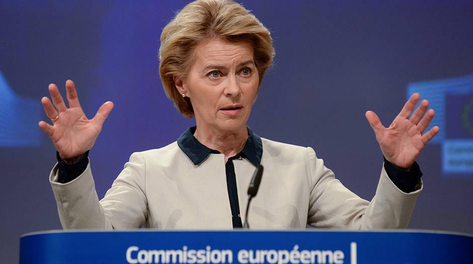 Ursula von der Leyen: Es un choque enorme para la economía global y para la europea