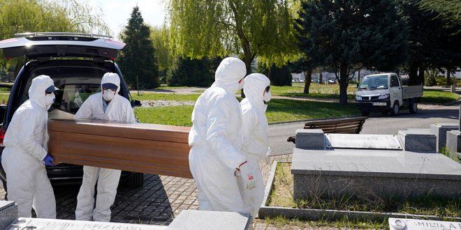 Nuevo récord de muertes en España