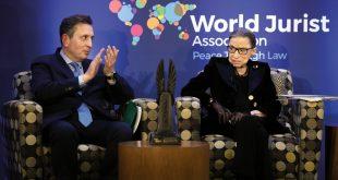 Javier Cremades, presidente de la World Jurist Association y de la World Law Foundation, destacó que se ha reconocido el trabajo y personalidad de Ginsburg