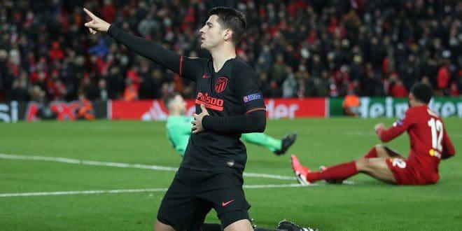Álvaro Morata se creció en Anfield