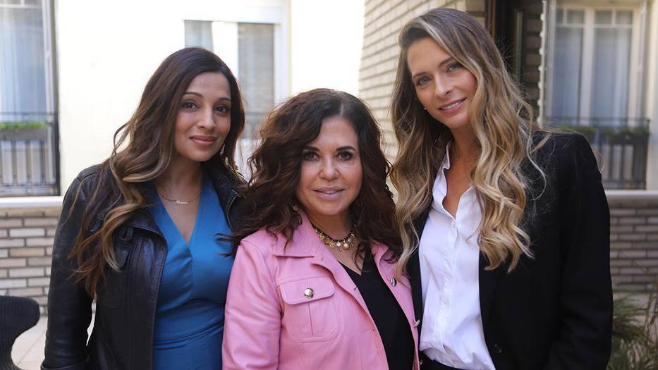 Nigma Talib, Natalia de la Vega y Verónica Carrillo