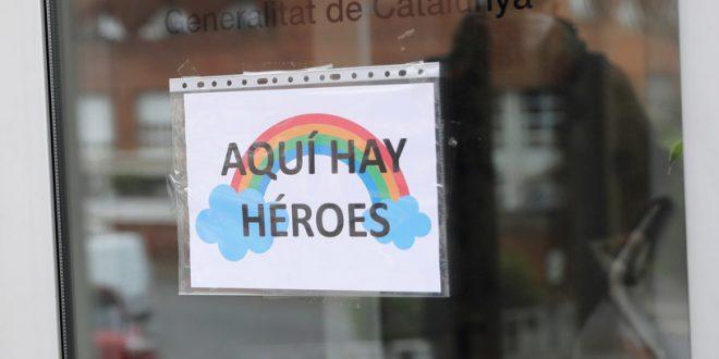 En Barcelona transforman los espacios para atender pacientes con COVID-19