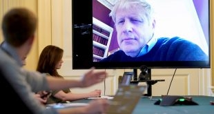 Boris Johnson en terapia intensiva