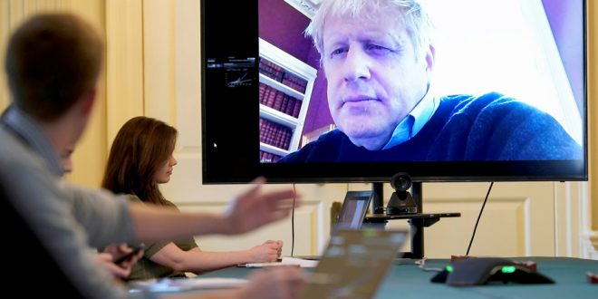Boris Johnson en terapia intensiva y China registra nuevos casos