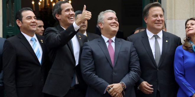 Grupo de Lima apoya propuesta de EEUU para gobierno de emergencia en Venezuela