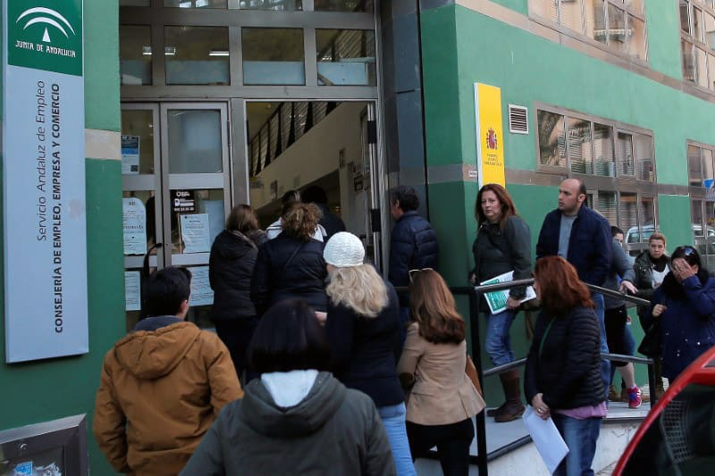 Empleos perdidos en España