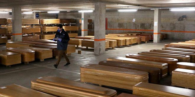 España registra 950 muertos