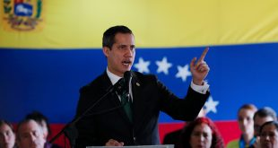 La propuesta del gobierno de transición fue hecha por los Estados Unidos y respaldada por el presidente intinerante de Venezuela, Juan Guaidó